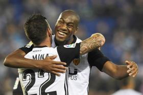 Valencia fire warning to Barca