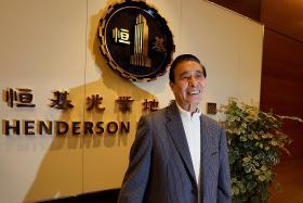Tycoon donates $173m as Hang Seng Index passes milestone