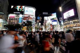 Shibuya-style crossing at Orchard Road
