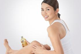 Evelyn Tan pairs small steps with good skincare products