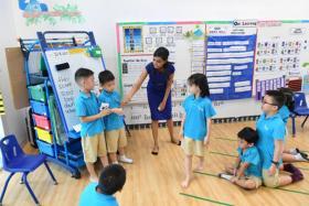 Priority for MOE kindergarten kids to enrol in co-located school
