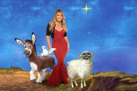 Mariah Carey's kids back her up in song for The Star