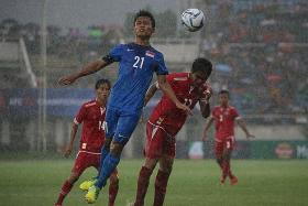 Singapore's youth football teams dogged by administrative issues