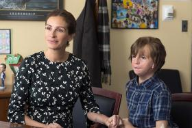 In new film Wonder, US actress Julia Roberts plays mother to Jacob Tremblay, whose character has a rare facial deformity.