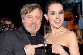 The hype reawakens as Star Wars stages Last Jedi world premiere