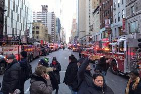 Suspect arrested after bomb blast injures four