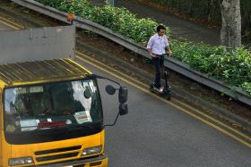 40 e-scooterists caught riding on roads every month