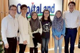 CapitaLand immersion programme inspires young architects