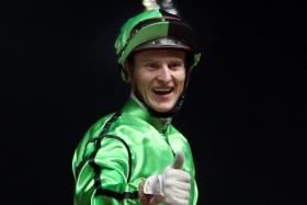 Jockey Zac Purton (above) will be in the saddle on Gracious Ryder.