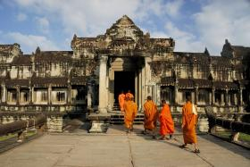 Go on a treasure hunt around Angkor Wat in Cambodia (above); camp out in Hud Hud Travels' Bedouin-style tents in Oman; relax at luxury chalet Hakuchozan in Hokkaido; check into Six Senses Residences Courchevel in the French Alps; have a private island experience in Bawah Island, Indonesia; enjoy Iceland's stunning Blue Lagoon; and go on a tour of lodges in Bhutan.