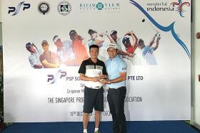 Koh Dengshan wins SPGA/PSP Solutions Engineering title