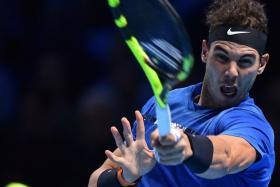 Rafael Nadal has not played since he withdrew from the season-ending World Tour Finals in London in November with a knee injury.