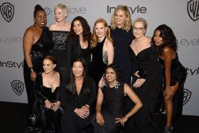 Blackout on Golden Globes red carpet for sex harassment victims