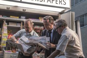 The Post, starring Tom Hanks and Meryl Streep