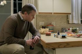 Matt Damon stars in Downsizing.