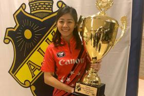 Singapore woman bowler Lim wins mixed-gender tournament
