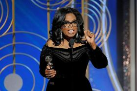 Trump would welcome challenge from Oprah Winfrey for President