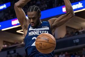 Timberwolves maul lacklustre Cavaliers