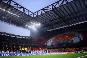 Seven-time European Cup/Champions League winners AC Milan, seen here during a match against Juventus at the San Siro last October, have many wonderful memories at their iconic stadium.