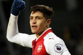 Alexis Sanchez, who is out of contract at the end of the season, is expected to leave in this transfer window.