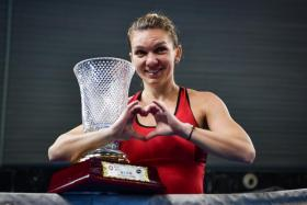 Simona Halep won the Shenzhen Open last Sunday wearing a brandless red dress she saw on the Internet.