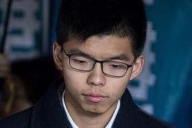 Hong Kong activist Joshua Wong jailed again over protest