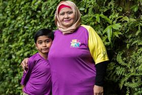Boy, 8, will run, hoping it can save his mother's life