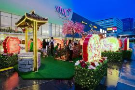 Celebrate CNY at these malls
