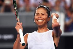 Taiwan's Hsieh Su-wei (above) last reached the fourth round of a Grand Slam 10 years ago, when she lost to Belgium's Justine Henin, also at the Australian Open.