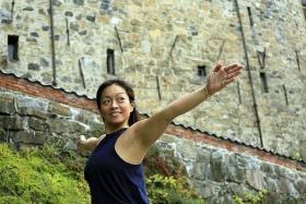 Baptiste teacher says yoga helped her mend broken relationships