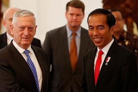 US Defence Secretary in Jakarta to strengthen ties