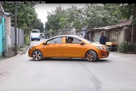 Two-headed car banned from Indonesia roads