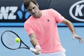 Roger Federer is on course for a record 20th Grand Slam title.
