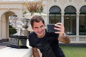 Coming up next: Federer v Father Time
