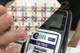 Pay with ez-link card at some stores and get NTUC LinkPoints