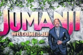 Jumanji regains top spot at the North American box office