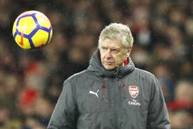Arsene Wenger's Arsenal are in a tough fight to qualify for the Champions League next season.