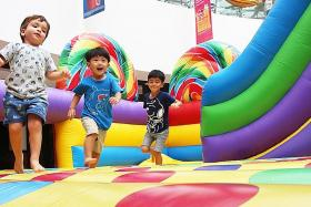 Spring to life at Kallang Wave Mall this CNY