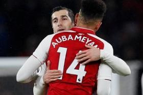 Henrikh Mkhitaryan is reprising his Dortmund partnership with Pierre-Emerick Aubameyang at Arsenal.