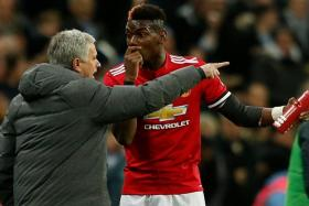 Man United manager Jose Mourinho insists that he has no problems with Paul Pogba despite dropping him during the 2-0 win over Huddersfield last Saturday.