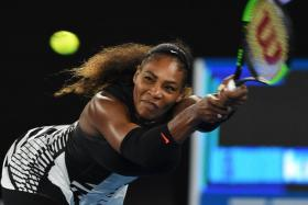 Serena Williams refused to be drawn on whether she had set her sights on the year's remaining Grand Slams.