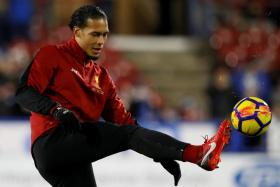 Virgil van Dijk is bracing himself for a hostile crowd at the St Mary's when Liverpool visit Southampton on Monday morning (Singapore time).