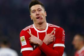 Robert Lewandowski has now scored 26 goals in all competitions this season.