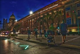 Trial for LED light strips at pedestrian crossings to be extended