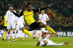 Michy Batshuayi is in blistering form for Dortmund.