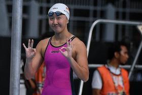 Jing Wen wins 200-yard butterfly final in US meet
