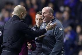 Guardiola looks to League Cup after Wigan upset