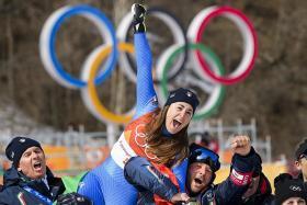 Goggia gatecrashes Vonn's Olympic swansong