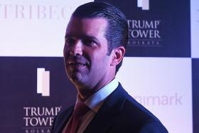 Trump junior says presidency costing family firm millions of dollars