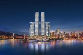Raffles City Chongqing's impressive sky bridge to open from next year